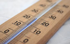 mercury thermometer reading