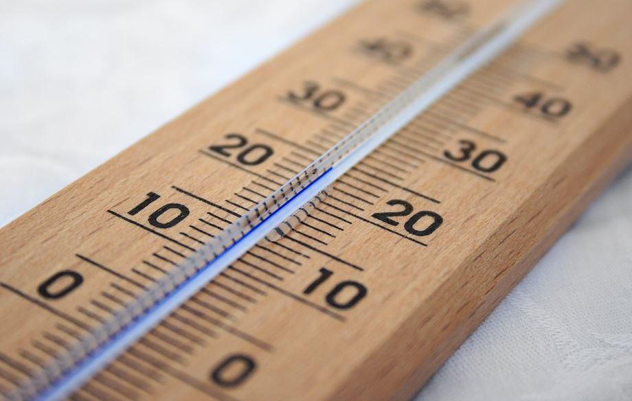 mercury thermometer reading
